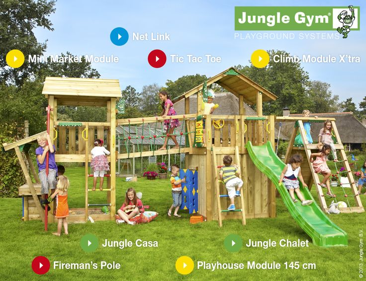 Jungle Gym Playparadises - your child will be the envy of all their friends #climbingframe