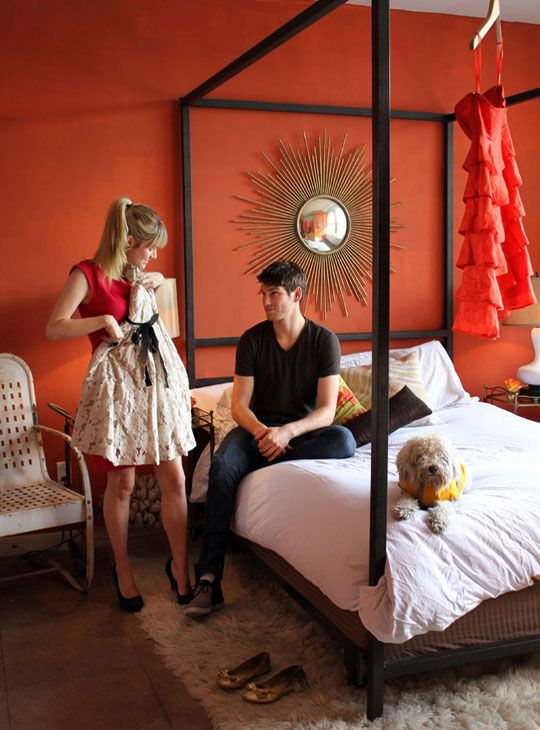 25 best ideas about orange bedrooms on pinterest orange bedroom walls grey orange bedroom and blue orange bedrooms - Orange Color Bedroom Walls