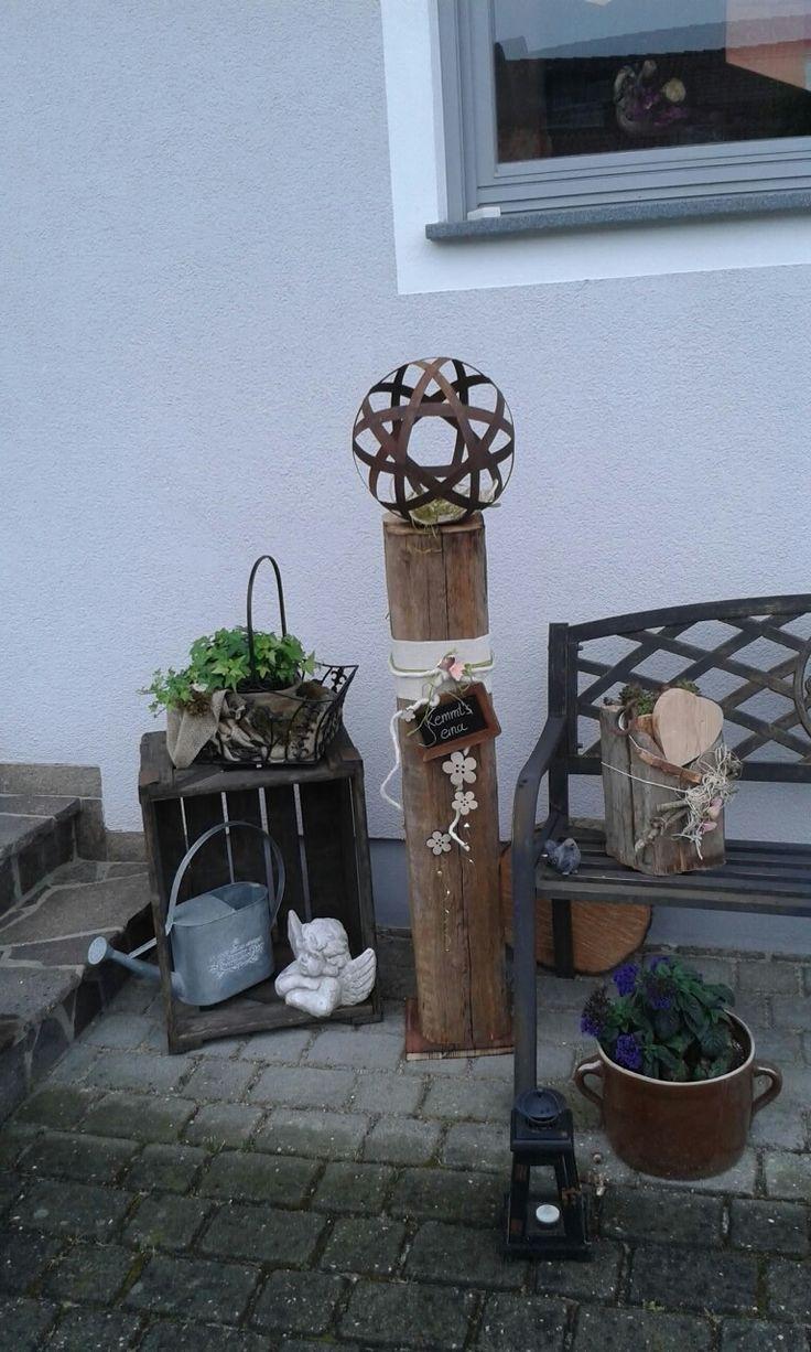 Fabulous Deko Holz Holzarbeiten Garten Haus Ideen Garden House Ideas