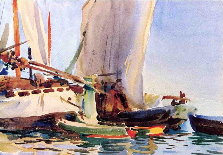 Giudecca 1907. Джон Сингер Сарджент