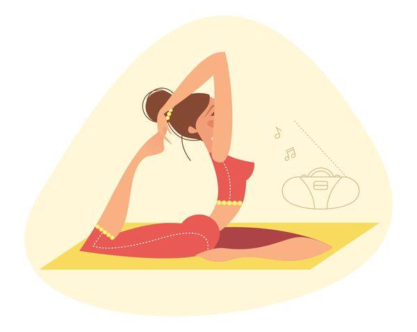 17 Best images about [yoga] illustrations on Pinterest | Yoga ...