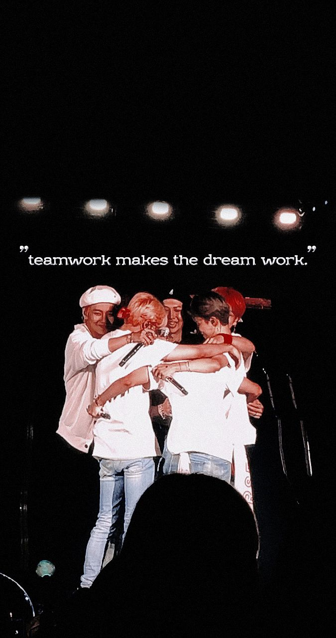 Bts Teamwork Makes The Dream Work Wallpaper Fondo De