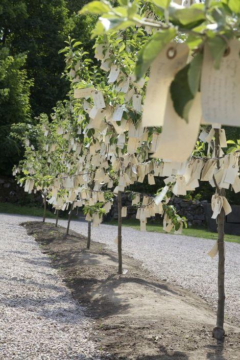 Wish Trees for Wanås by Yoko Ono