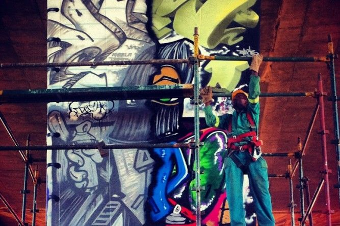 Though South Africa is a relative newcomer to the graffiti scene, it is catching up rapidly. A street art walking tour is a great way to get explore the city's emerging street art scene.