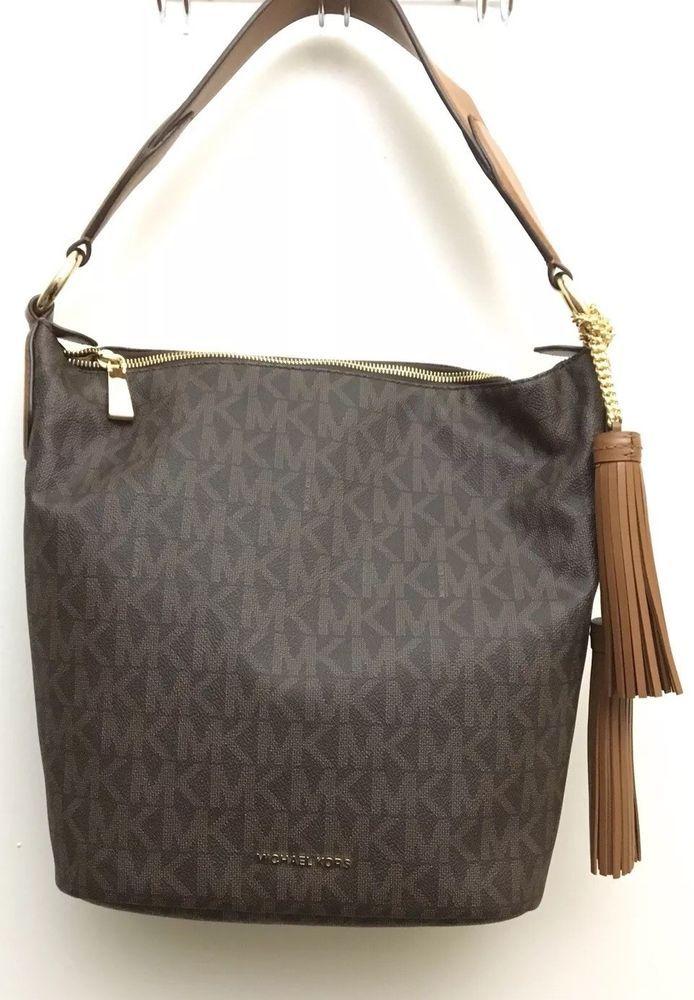 5ebfcdc2d182 Michael Kors Elana Leather Convertible Shoulder Crossbody Handbag Brown  MSRP 378 #fashion #clothing #shoes #accessories #womensbagshandbags (ebay  link)