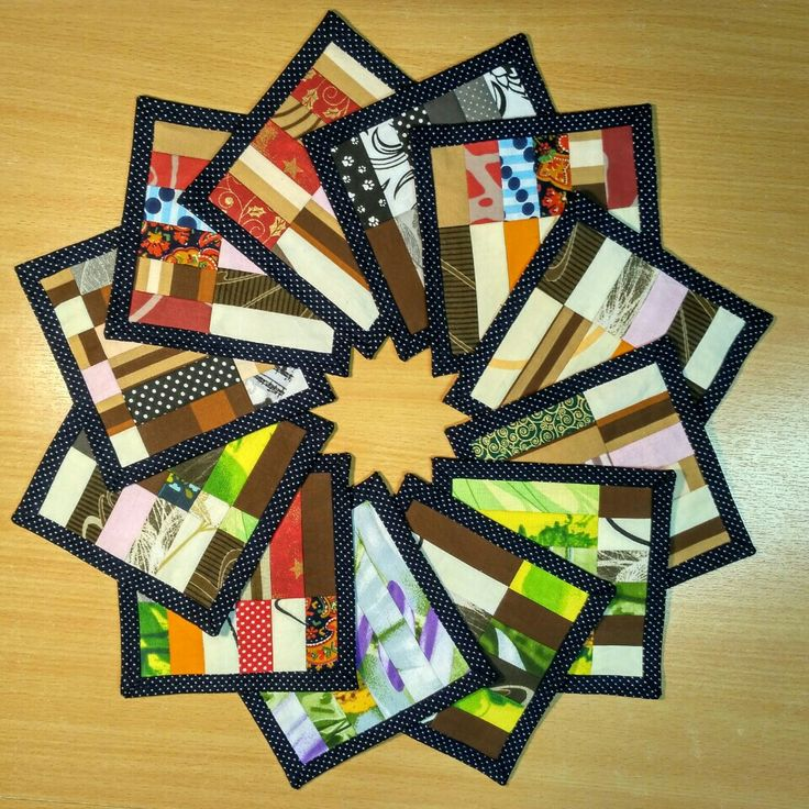 Mini quilts seminole potholders