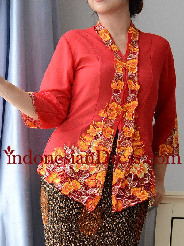 Red Ruby Modern Kebaya