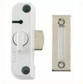 The Chubb / Yale 8K100 White Window Lock is able to be used to secure timber casement windows. Fixings included are only suitable for timber doors so other fixings would be required.