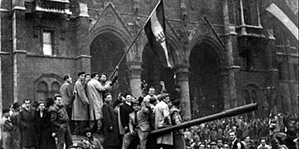1956 - freedom fighters ( soviet occupation 1945-1991)