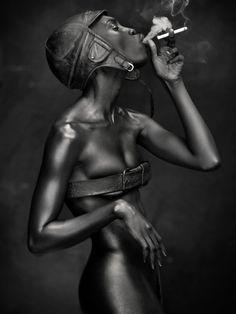 Grace Jones by Mike van der Giessen