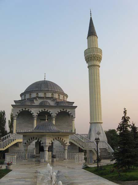 Ukraine. Sultan Suleiman Mosque in Mariupol