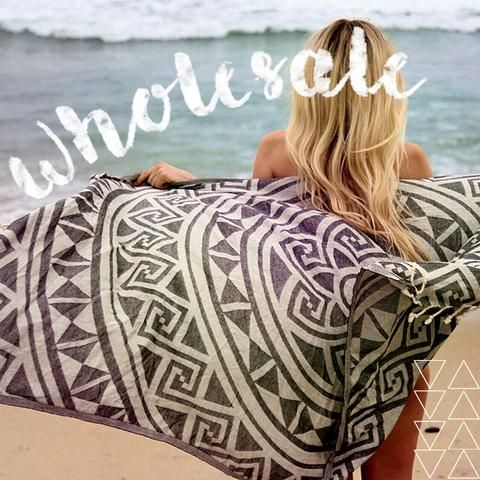 Sand Cloud offer beach towels in bulk at wholesale prices. We bring our awesome products to the masses. We offer beach towel in attractive design and pattern. These beach towel are stylish and trendy perfect for beach.