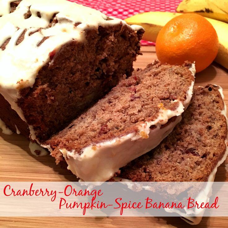 Cranberry-Orange Pumpkin-Spice Banana Bread @allrecipes #ad # ...