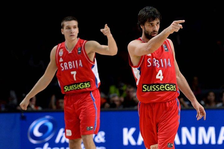 EUROBASKET 2017 - TEAM SERBIA  Starting lineaup: Milos TeodosicBogdan Bogdanovic Nikola Kalinic Milan Macvan Boban Marjanovic  Bench: Stefan Jovic Nemanja Nedovic Ognjen Kuzmic Miroslav Raduljica Marko Simonovic...  The 22-year old Denver Nuggets rising star Nikola Jokic decided to skip international play to devote his summer to personal development. Minnesota Timberwolves forward Nemanja Bjelica is still recovering from an injury while Nikola Milutinov and Nemanja Dangubic will spend this…