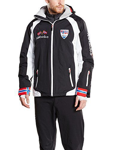 Nebulus Stockholm Veste de ski Homme Noir FR : M (Taille Fabricant : M): Tweet
