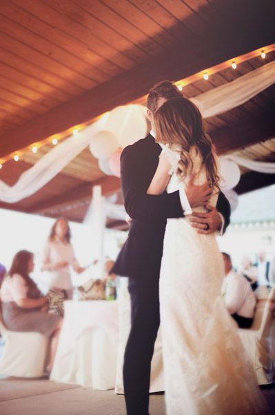 The sweetest first dance shot | Ellie Asher Photography