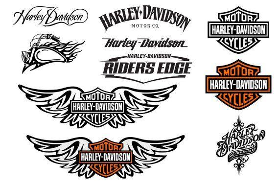 Harley Davidson Logo Svg Harley Davidson Svg Harley Svg Clipart Vector Dxf Print File Harley Davidson Decals Harley Davidson Logo Harley Davidson Tattoos