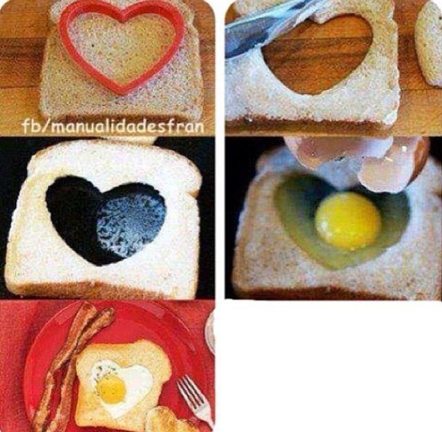 Valentinstag Frühstück