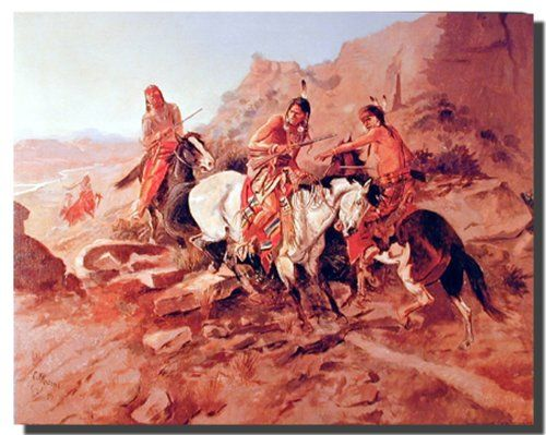 Charles Marion Russell The Scout Old American West Wall D...…