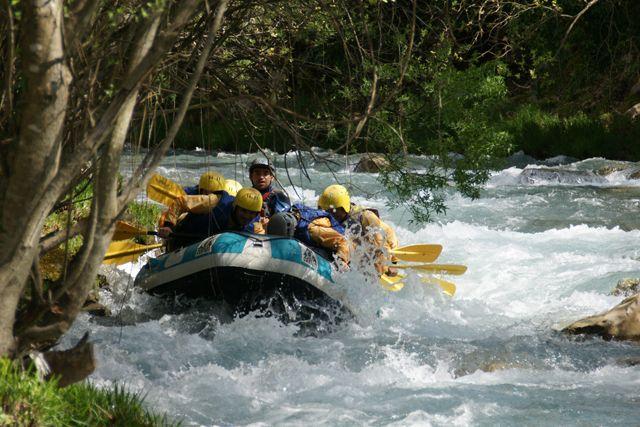 Eco Action S.A - Rafting στον Λούσιο - Αλφειό