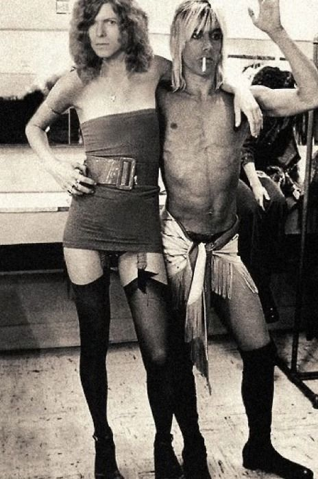 David Bowie, Iggy Pop • I don't even know where to begin with this one!