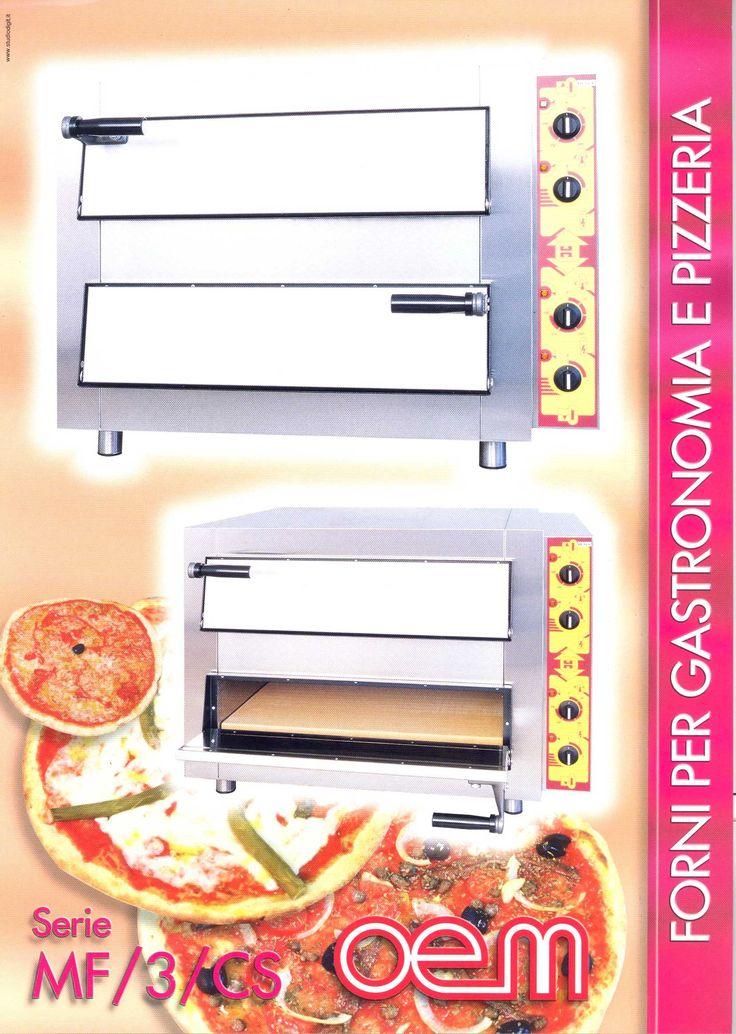 OEM - Ovens for gastronomy and pizzeria - MF3 CS www.oemali.com