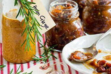 Orange and mustard ham glaze
