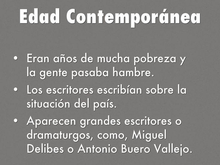 """Edad Contemporánea"" - A Haiku Deck"