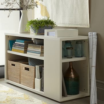 Modular Bookcase - White #westelm