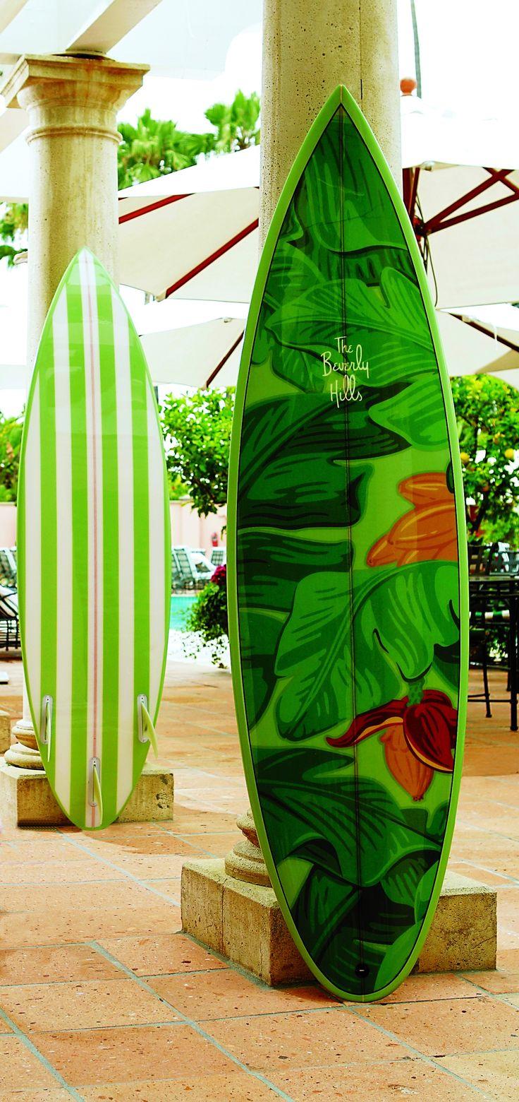 #beverlyhillshotel surboard #loveBevHillsHotel @Beverly Hills Hotel