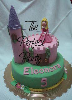 The Perfect Party: Torta Principessa Aurora