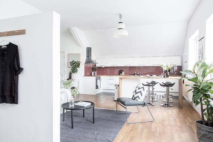 25 beste idee n over appartement indeling op pinterest - Studio indeling ...