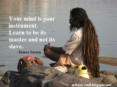 Master your mind through meditation