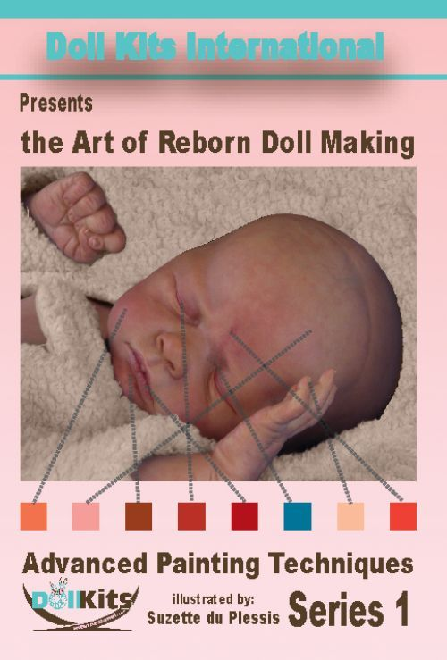 """http://macphersoncrafts.com  Suzette uses very detailed instruction to help the student artist produce a beautifully made reborn baby doll. She shares her experience and recipe for """"Baby Glow Magic Mix"""" that when applied – brings out those lifelike qualities that will make your reborn doll extra special! Learn about: www.macphersoncrafts.com"""