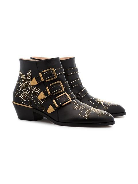 550618e6697 Chloé black Susanna 30 Studded Ankle Boots $1,160 - Buy Online SS19 - Quick  Shipping, Price