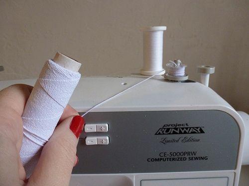 El básico Tutorial: el fruncido En Una Máquina de coser