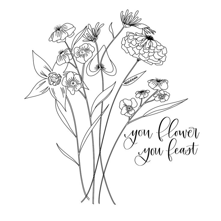Fresh Start Botanical Line Drawing Harry Styles Tattoos