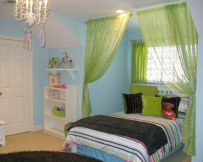 Glam Girl S Bedroom, Contemporary Kids, Houston