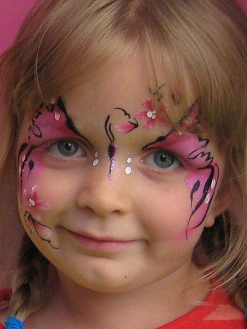 D Face Painting