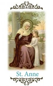 Inspiration: Purpose Affirmation: I AM Purpose Day: July 26th Lifetime: around 596 BC  Saint Anne is the patron saint of mothers and female professionals. Anne was the mother of Mary, Grandmother of Jesus, teacher and guider of the flock. Anne was always connected to God and to her purpose. St. Anne reminds us all that we are divinely guided and our life has purpose. You have ability beyond today's knowledge… trust and you will be shown. Connect with St. Anne and bring Purpose into your…