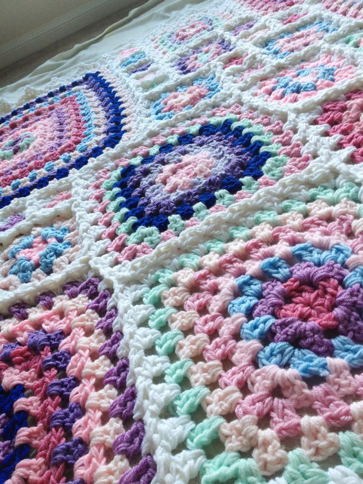 BabyLove Brand Gelato Blanket - Crochet Pattern/Tutorial - kids toddler baby adult - rectangle throw - blanket is also available. $3.75, via Etsy.