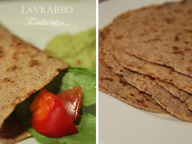 Lowcarb tortilla: norwegian recipe