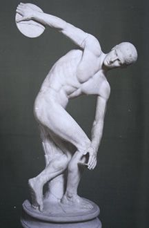 diskuswerfer 450 v chr antike griechische kunst pinterest griechische griechische. Black Bedroom Furniture Sets. Home Design Ideas