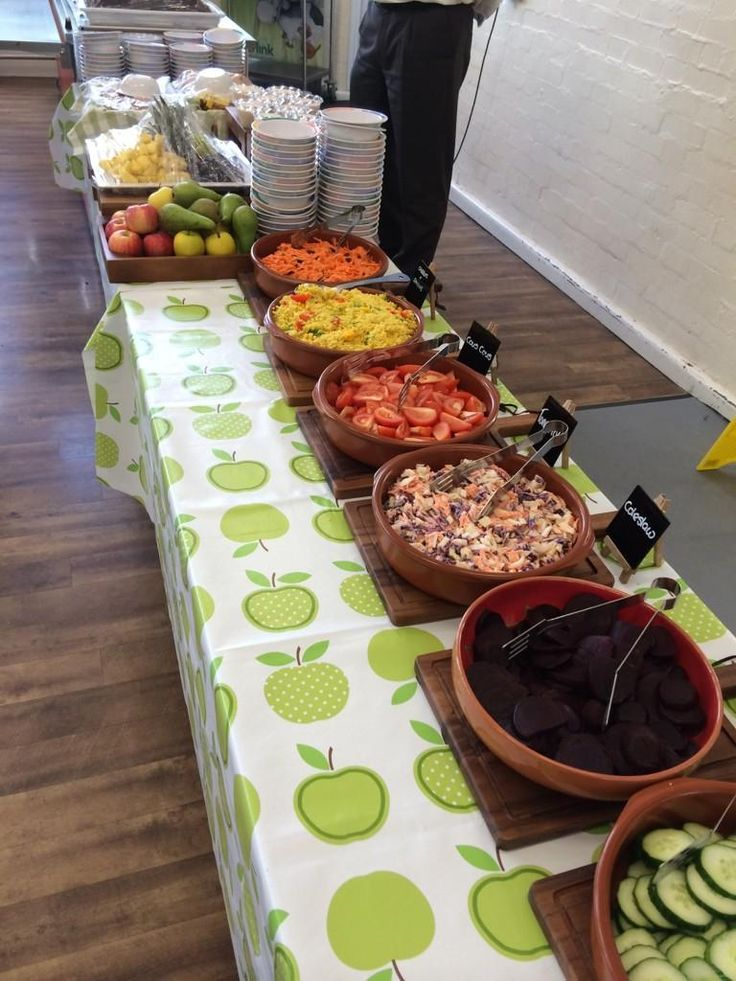 Lunch is served at Cheam Fields Primary School and it looks delicious.