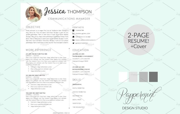 20+ Resume Cover Letter Template Word, EPS, Ai and PSD Format 20 - what goes on a resume cover letter
