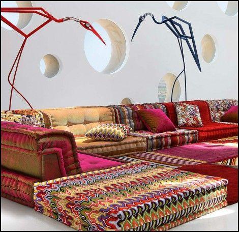 Mah Jong Modular sofa for Sale