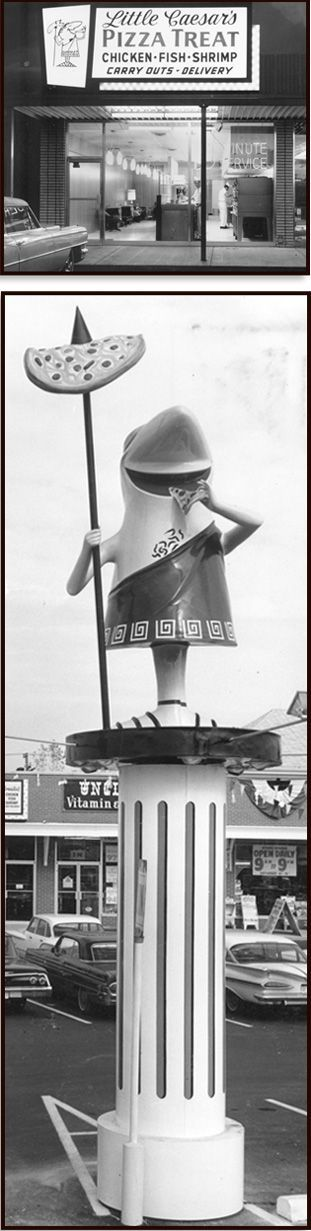 Little Caesars, first store, (1959) Garden City, Michigan