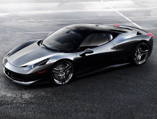 Ferrari 458 Italia Pininfarina Design SR Project Kiluminati De 2010 Con  Llantas Pur Design Y Pintura Black Diamond By SR Auto Grup And Pur Wheels.