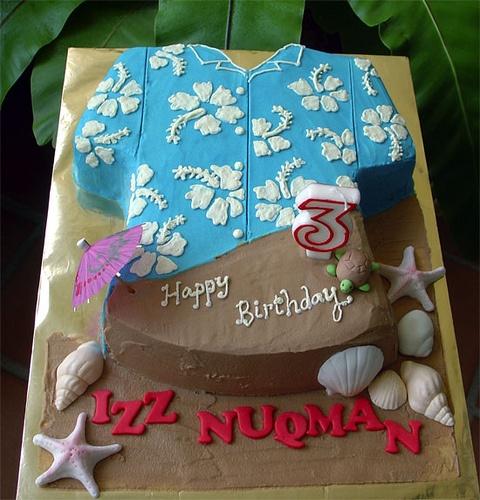 Hawaiian Shirt Cake By Specialcakes Tracey Via Flickr