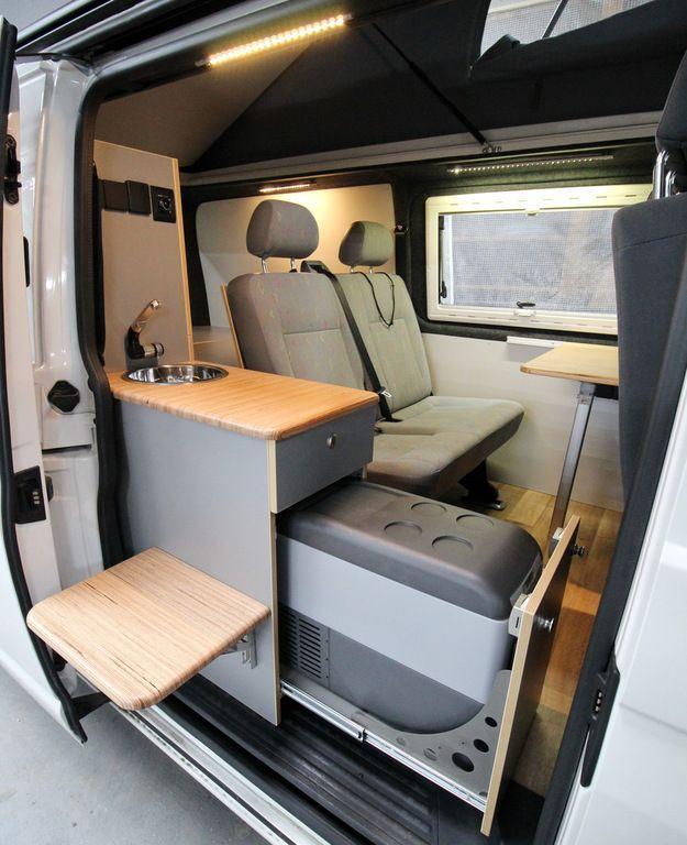 Image result for VW T5 Ausbau Camper interior, Campervan